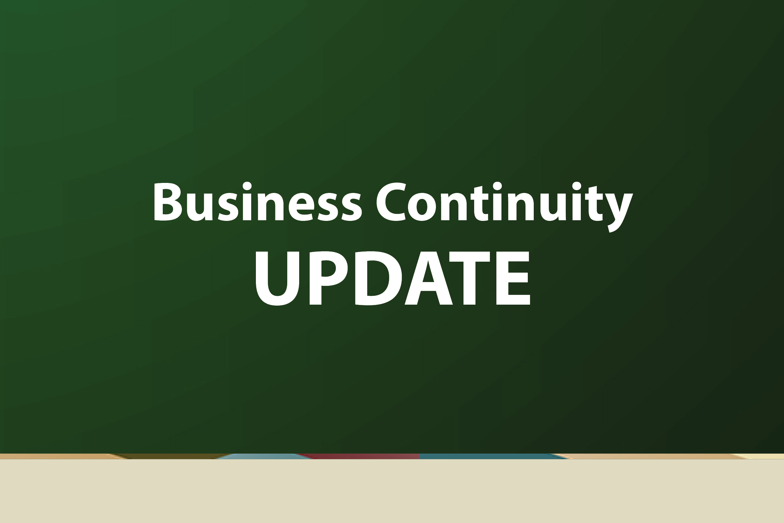 Business Continuity Update Graphic 3